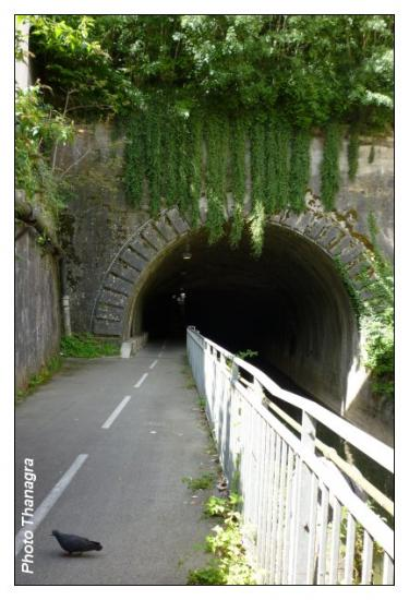 Sortie du tunnel de la citadelle