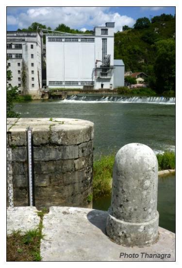 Ecluse et moulin