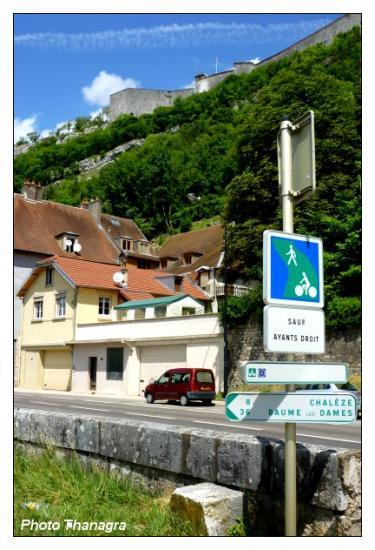 Entrée dans Besançon