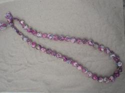 Sautoir Thorpe violet