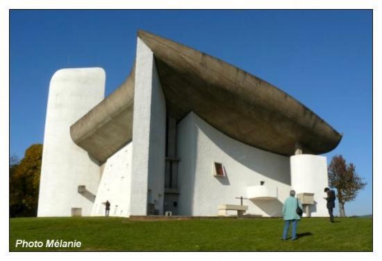 Chapelle de Ronchamp