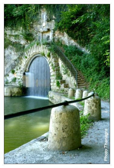Entrée Est du tunnel de Thoraise