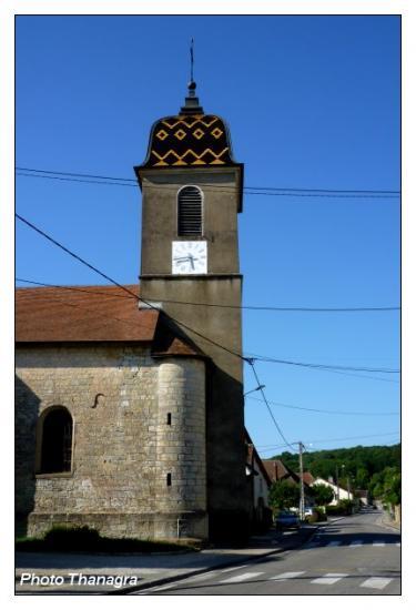 L'église d'Osselle