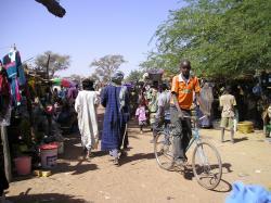 Marché de Fatoma - entrée