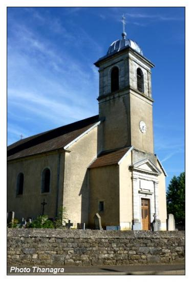 Eglise de Roset Fluans