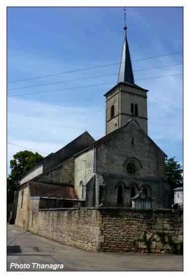 Eglise d'Orchamps