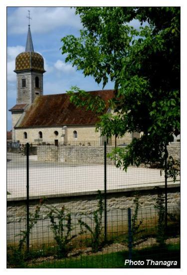 Eglise de Rochefort sur Nenon