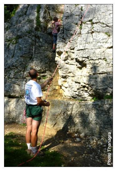 Apprenti alpiniste