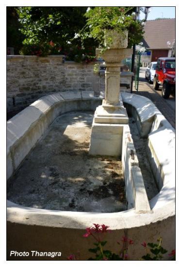 Le lavoir de Rochefort sur Nenon