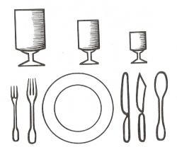 Savoir dresser une table - Comment dresser les couverts sur une table ...