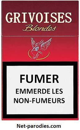 parodie fausse pub cigarettes gauloise grivoise