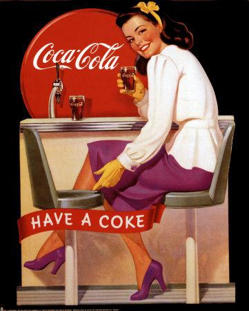 affiches coca cola 1. Black Bedroom Furniture Sets. Home Design Ideas