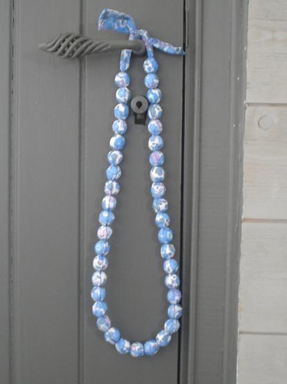 Sautoir Betsy bleu