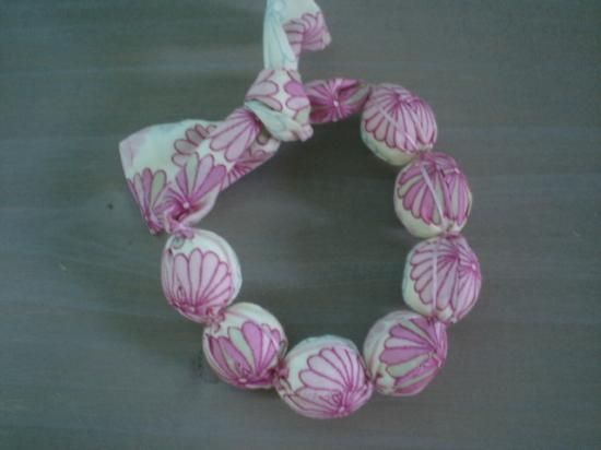 Bracelet Kinnear rose et bleu