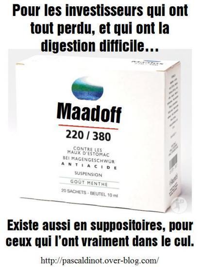 parodie fausse pub medicament maalox