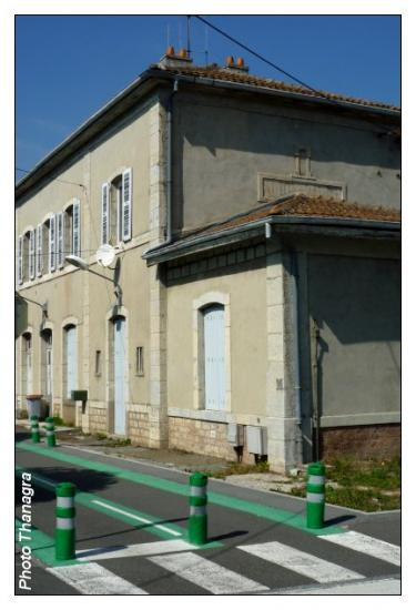 Retour à la gare d'Audincourt