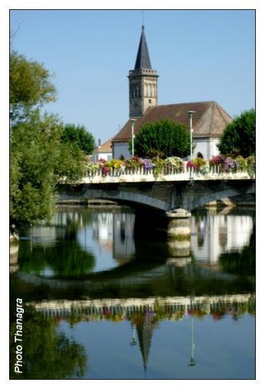 Le pont François Mitterrand