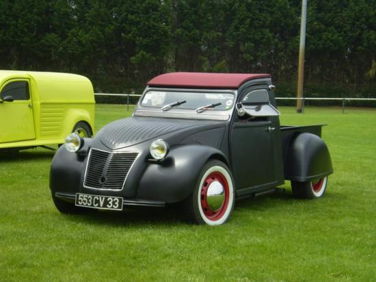 2cv pick up. Black Bedroom Furniture Sets. Home Design Ideas