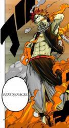 Natsu présente les personnage