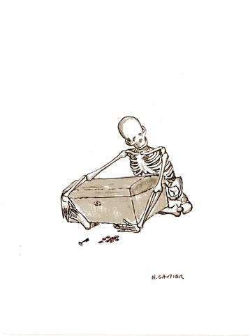 dessin avarice