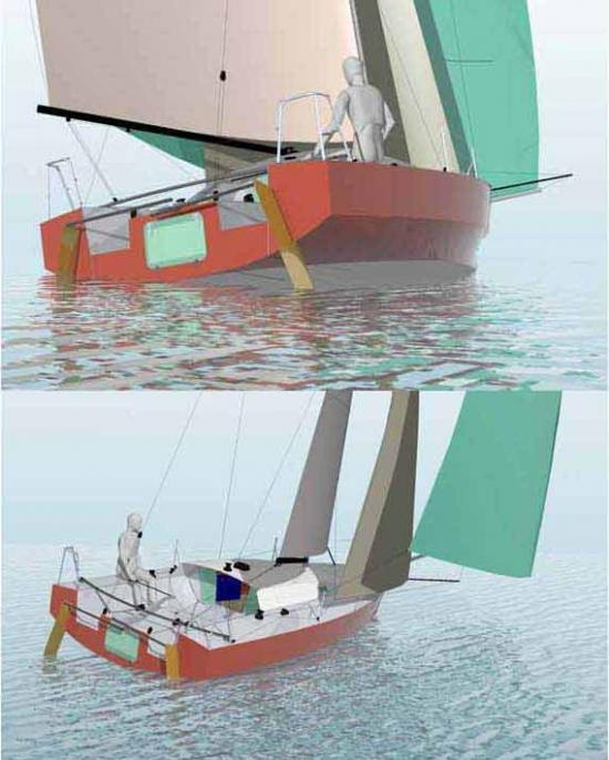 Finne: Modern plywood boat plans
