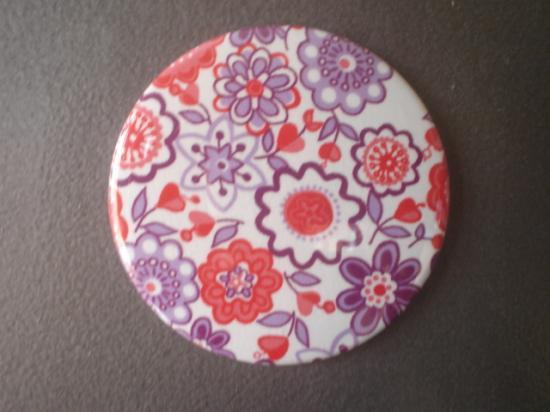 Magnet Lauren rouge et violet 2