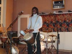 Bachir Sanogo jam session à Charly sur Marne dans l'Aisne
