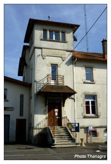 La mairie d'Andelnans