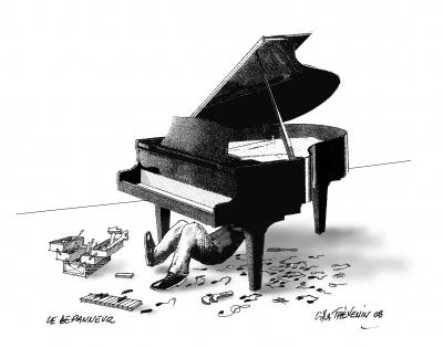Il ne faut pas avoir peur d 39 epicure - Coloriage piano ...