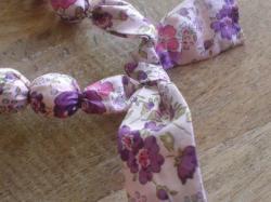 Détail Felicite violet et rose