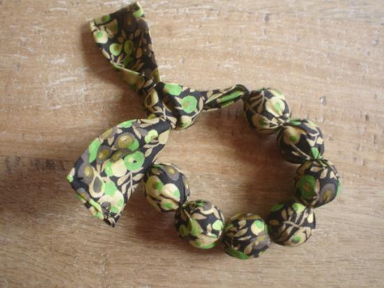 Bracelet Wiltshire vert et marron
