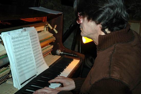 Jean-Yves Candela au piano