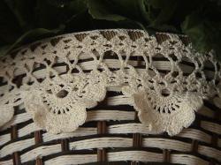 bordures au crochet