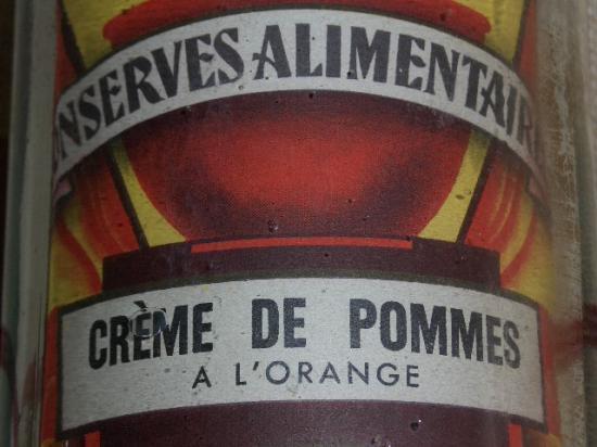 Crème de Pommes à l'Orange