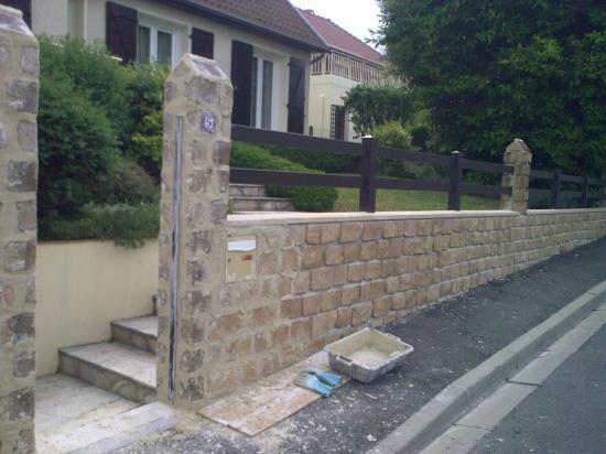 Portail et cloture refection de mur for Entreprise cloture et portail