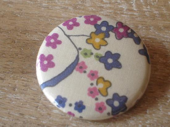 Badge 32 Mauvey jaune