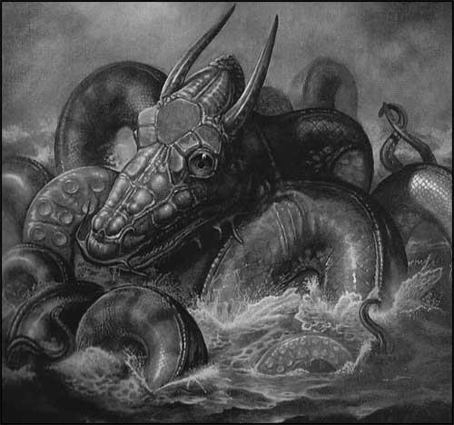 Cryptozoologie cryptozoology kraken cracken calamar colossal calamar géant marins légende mythe cryptide existence arthropode Scylla scandinave