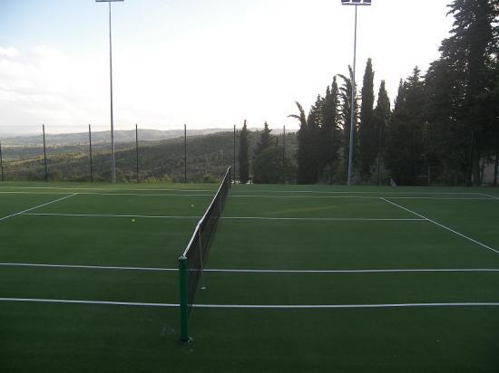 Tennis for Terrain de tennis taille