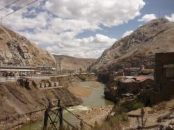 Vista de La Oroya