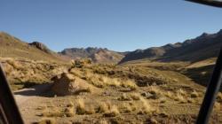 Montañas antes de Santa Ines
