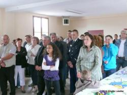 Connigis ; inauguration de l'école. L'assistance