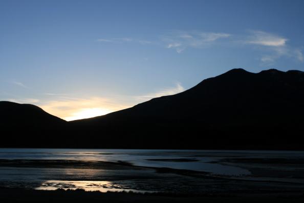 Rio Putana à l`aube