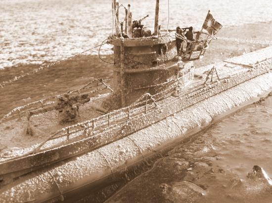 U-Boot dans l'arctique