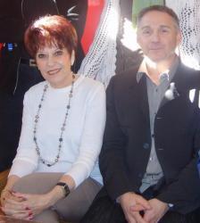 Nadine COSTA Auteur de pièces de théâtre et Patrick VIGNAL
