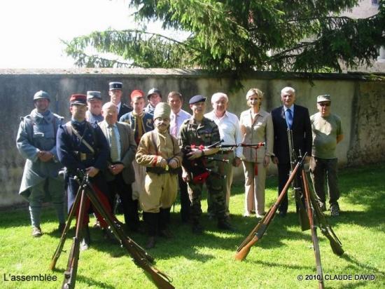 Commémoration à Sommelans