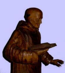 Sculpture bois au Carmel du reposoir