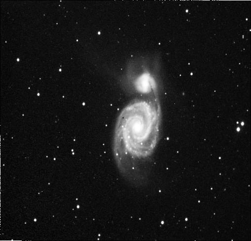 La galaxie des Chiens de Chasse (photo prise par le Club Véga)