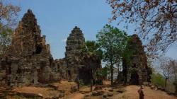 Temple Wat Banan dans la région de Battambang