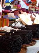 Gousses de vanille au marché de St-Paul