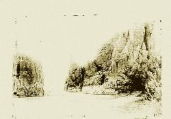 Sortie des gorges de Larouia